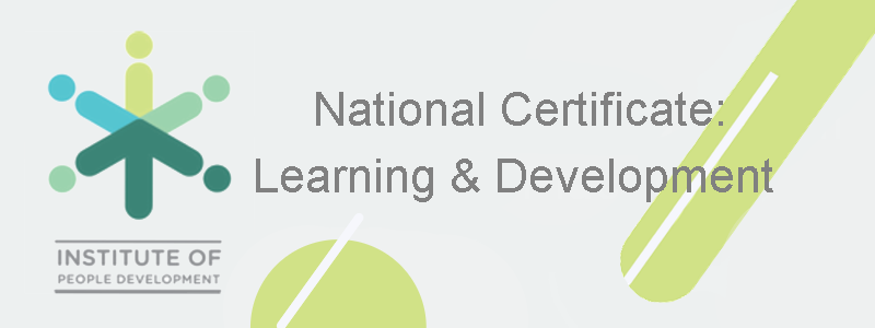National Certificate: Occupationally Directed Education, Training and Development Practices (Level 6)