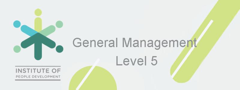 General Management Level 5