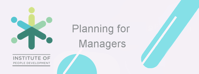 Planning for Managers